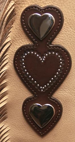 Custom Heart Chinks