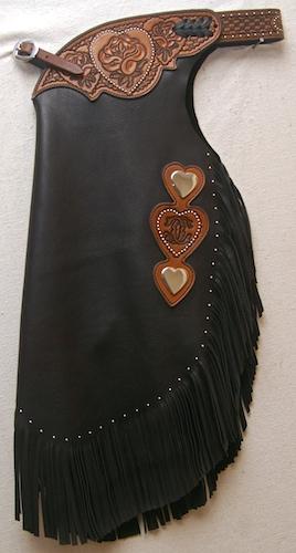Floral Heart Custom Chinks
