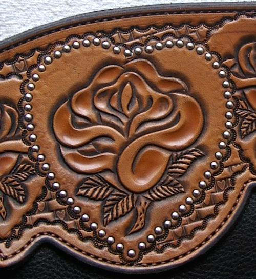 Rose and Heart Custom Chinks