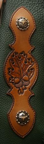 Custom Oak and Acorn Chinks
