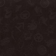 Wyoming Trader Cowboy Logo Black Jacquard