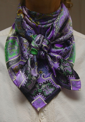 Wyoming Trader Charmeuse Lilac & Lace