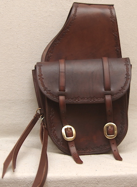 #22 SM Custom Saddle Bag