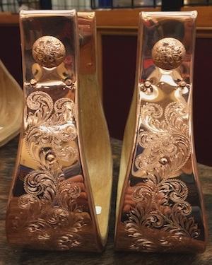 Weber Fully Engraved Stirrups