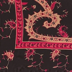 Wyoming Traders Satin Silk Red
