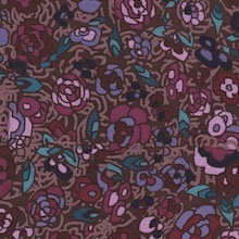 Cowboy Images Plum Pink on Brown
