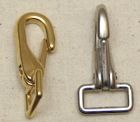 Plain snaps brass or stainless