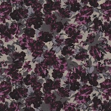Cowboy Images Small Flower Burgundy