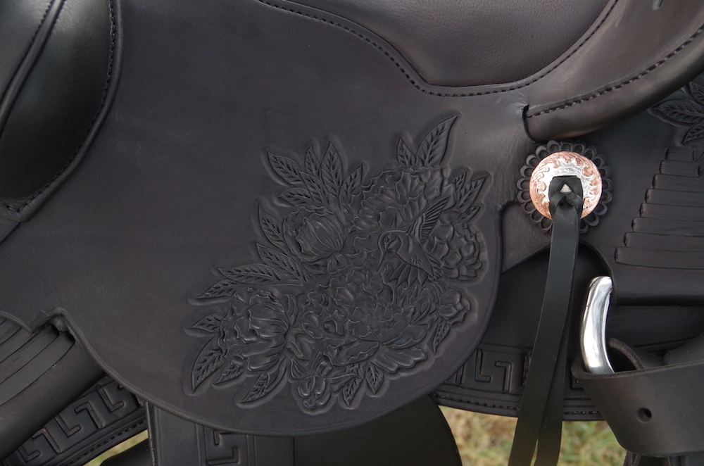 Out West Saddlery #94 Custom Saddle