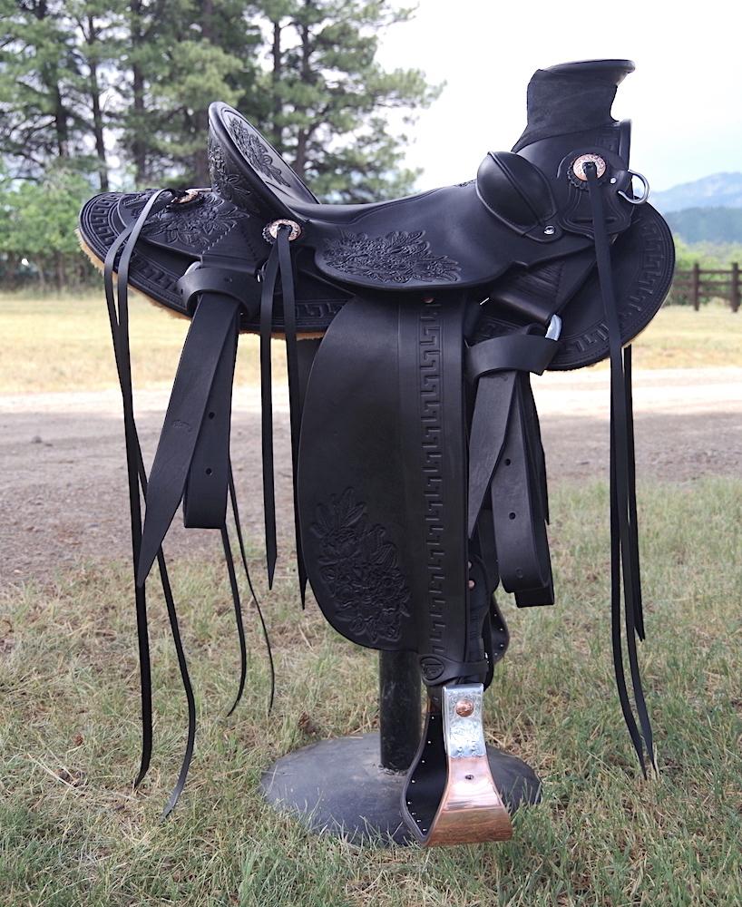 Out West Saddlery #94 Custom Saddle