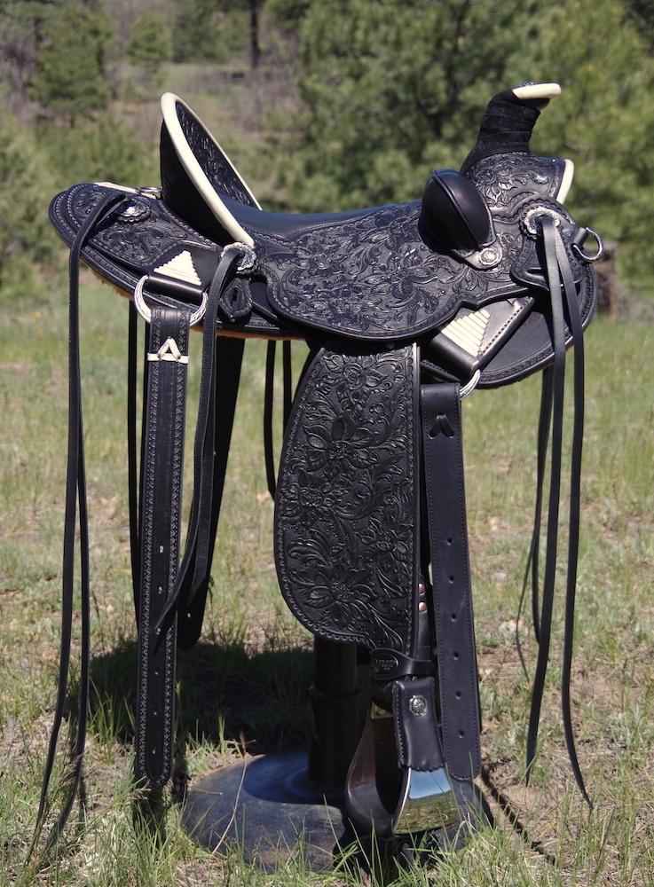 Out West Saddlery #93 Custom Saddle