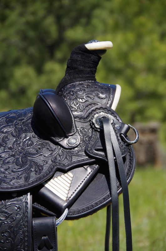 Out West Saddlery #93 Custom Saddle