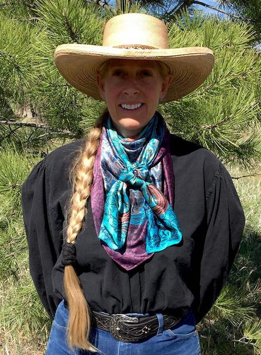 Wild Wild Rags Houlihan Silk Scarf