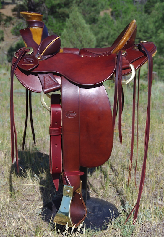 out west saddlery stock saddle