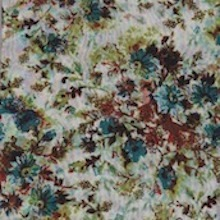 Cowboy Images Country Garden Teal