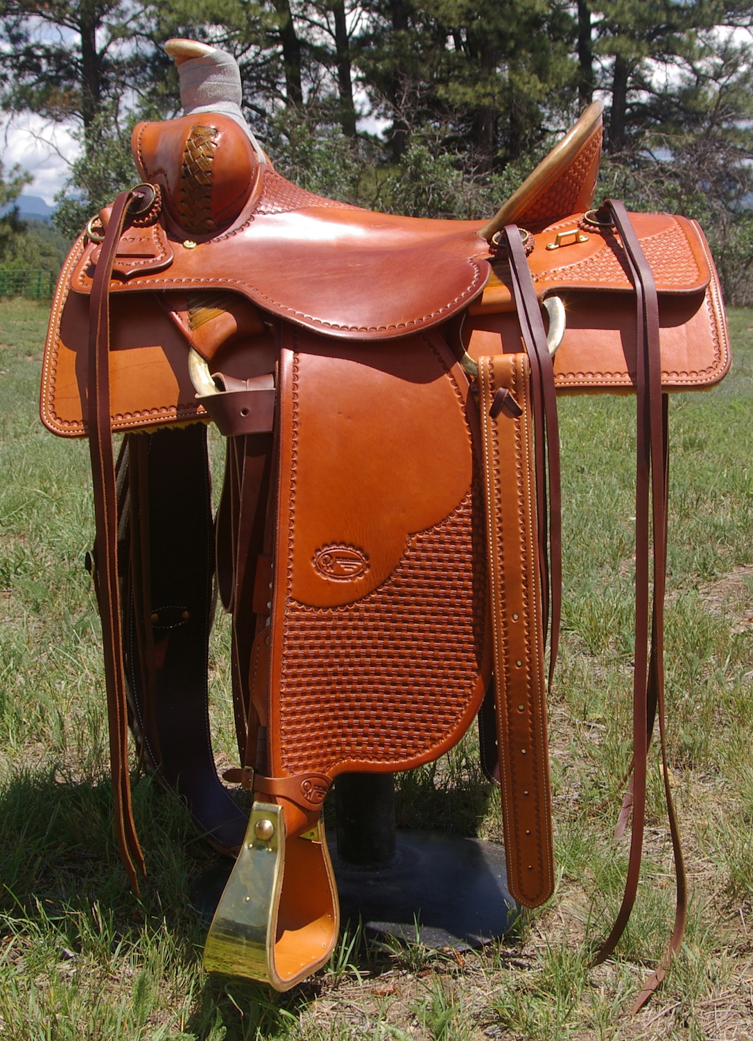 Custom Saddle #71
