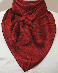 Paisley Red