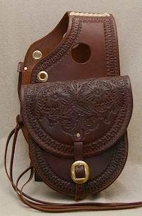 Custom Saddle Bag