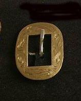 Brass Durango buckle