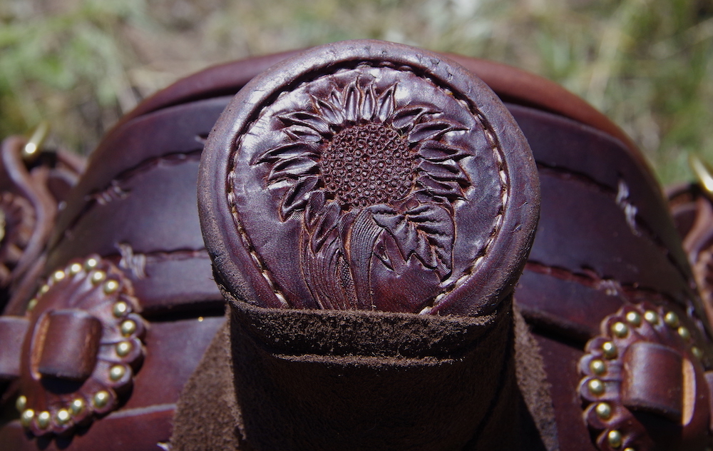 Custom 3B Visalia Saddle