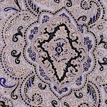 Wyoming Traders Ivory Gold Paisley