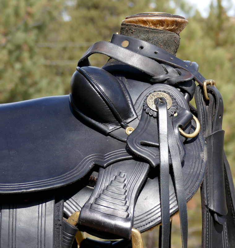 Out West Saddle #100 Used For Sale