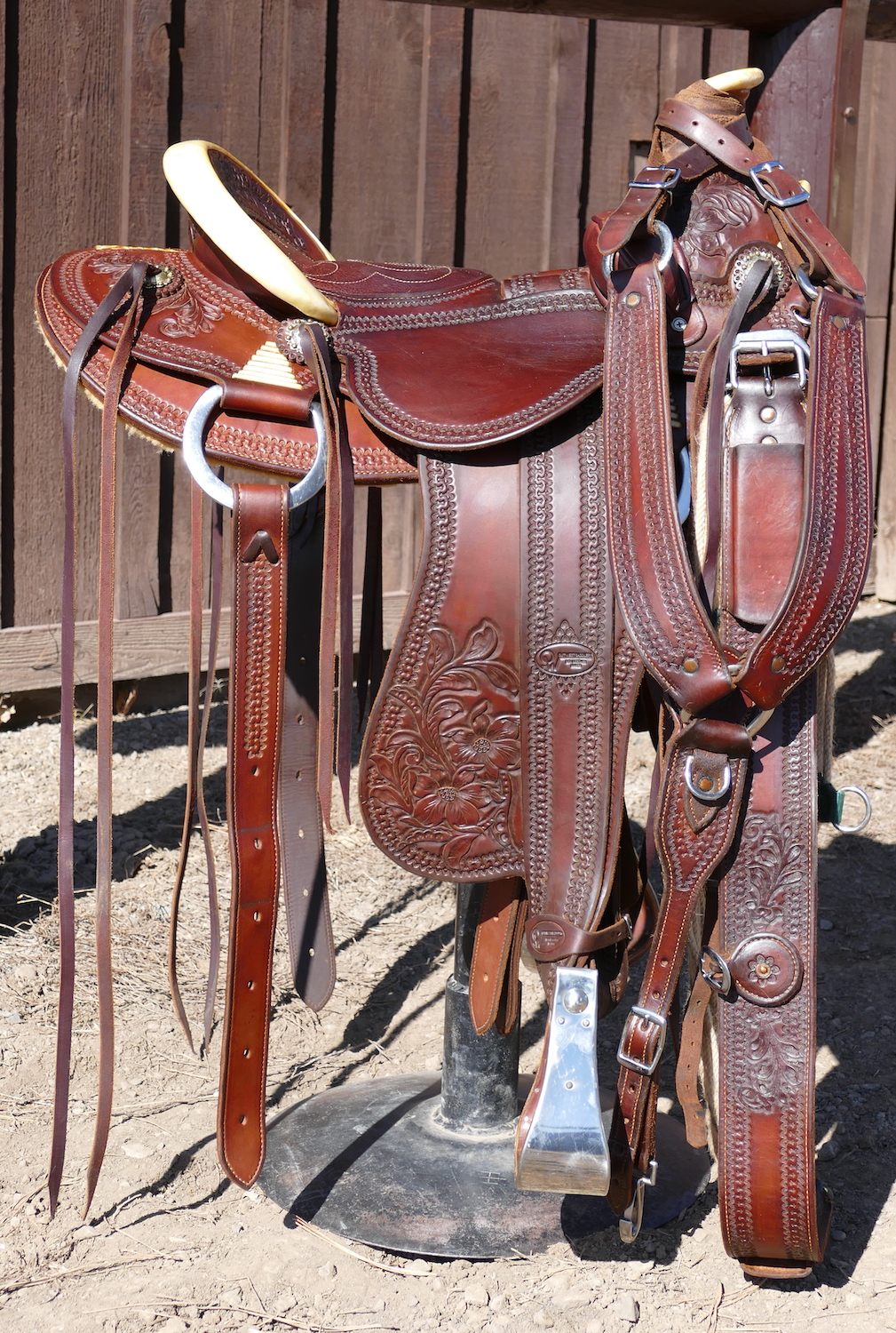 Out West Saddlery Saddle #37 For Sale