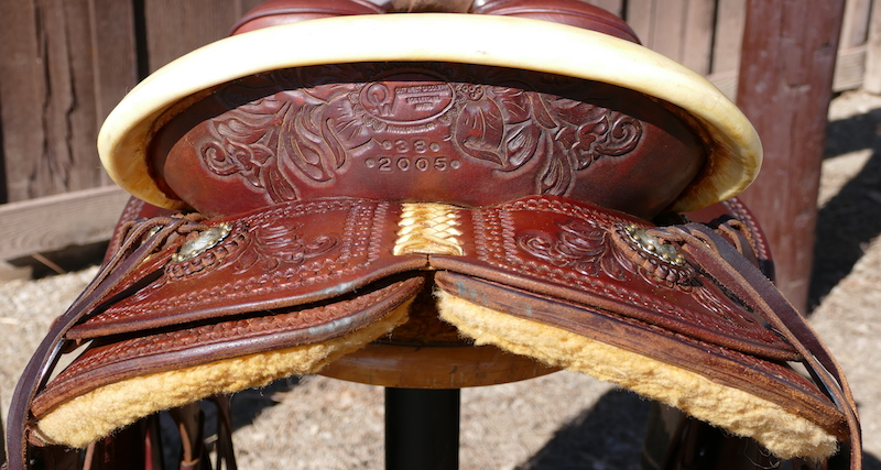 Out West Saddlery Saddle #38 For Sale