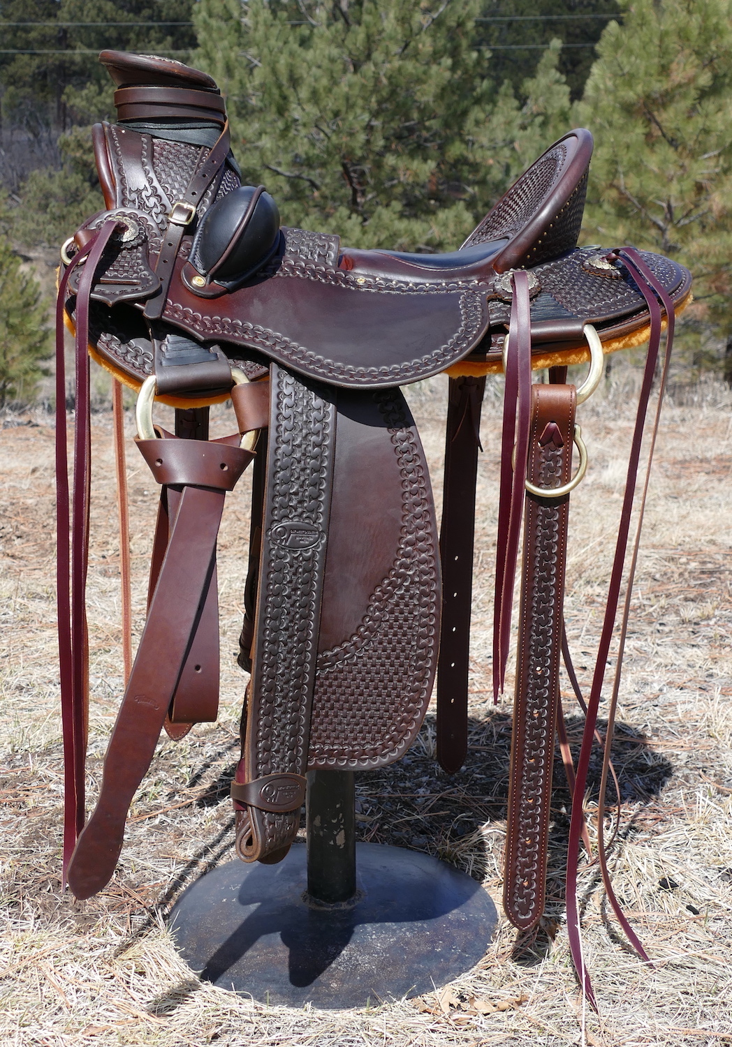 Out West Saddlery Custom Wade Saddle