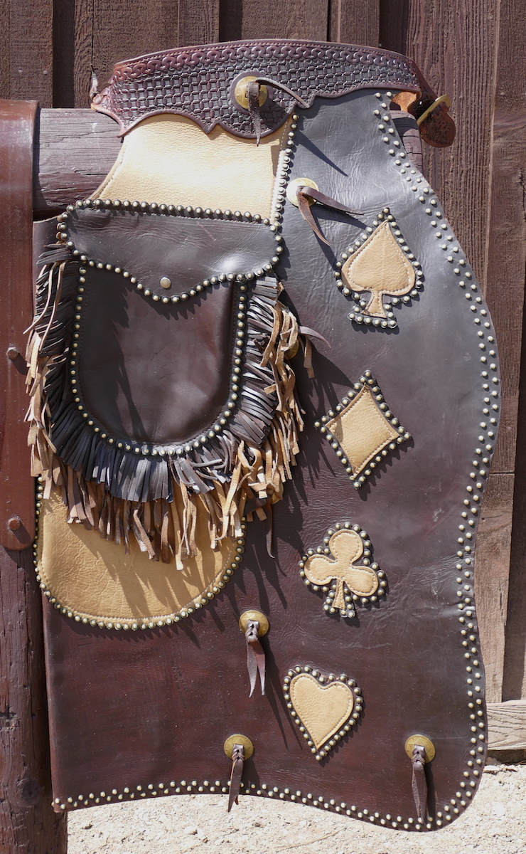 Out West Saddlery Custom Bat Wing Chaps