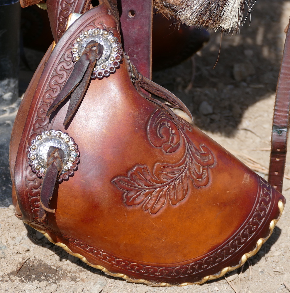 Out West Saddlery Used Custom Saddle #25 For Sale