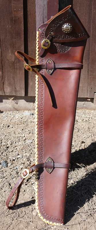 Out West Saddlery Used Gun Scabbard