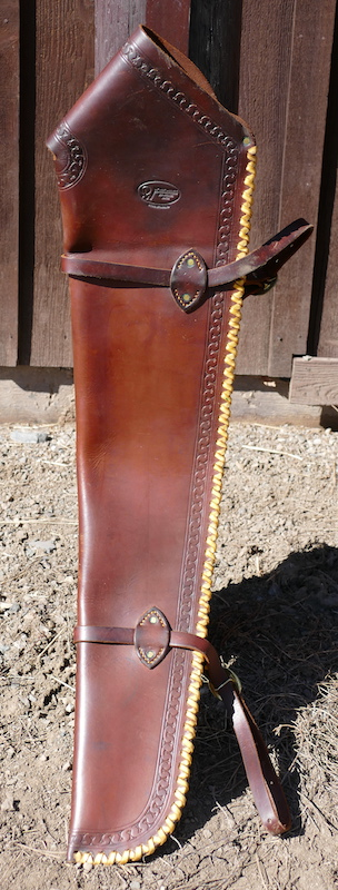 Out West Saddlery Gun Scabbard