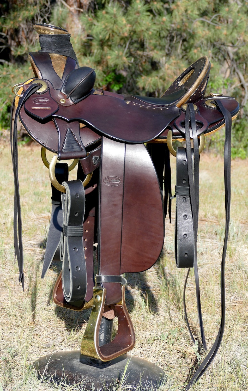 Out West Saddlery Santa Fe Vaquero Wade