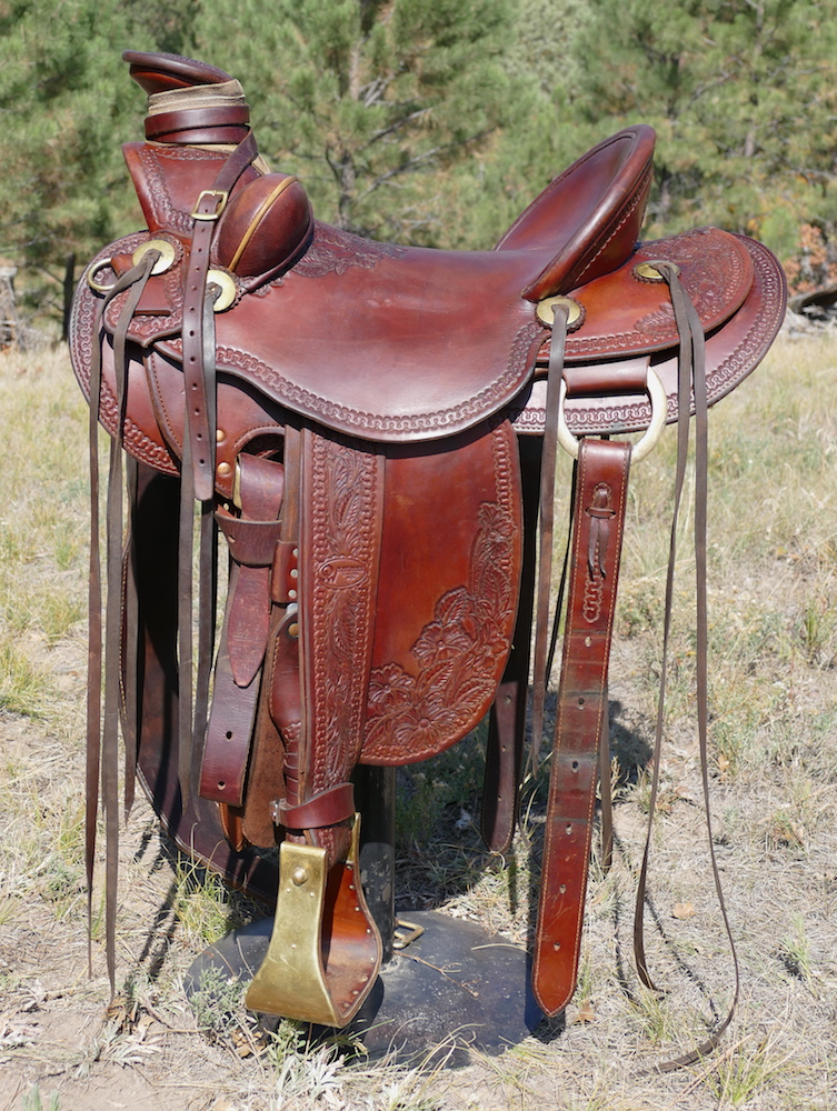 used out west saddlery wade saddle