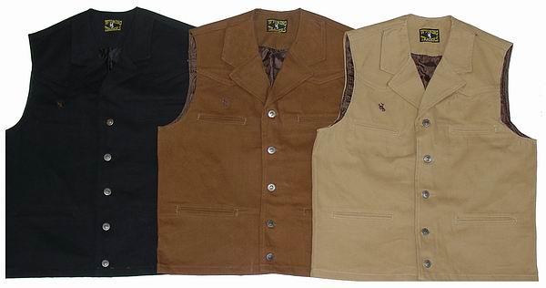 Wyoming Trader's Men's Bronco Vest