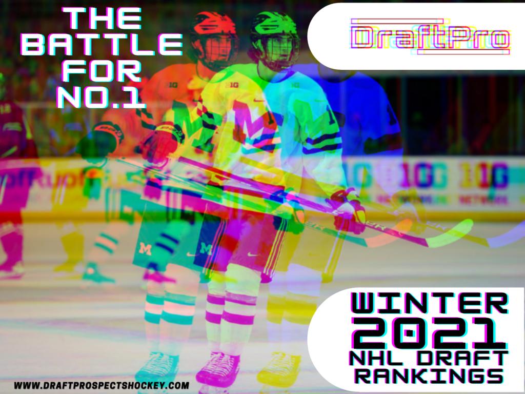 DRAFTPRO – WINTER 2021 NHL DRAFT RANKINGS