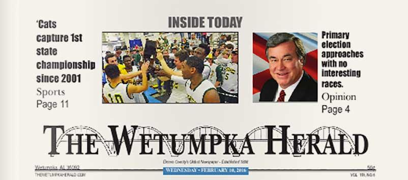 The Wetumpka Herald Ads