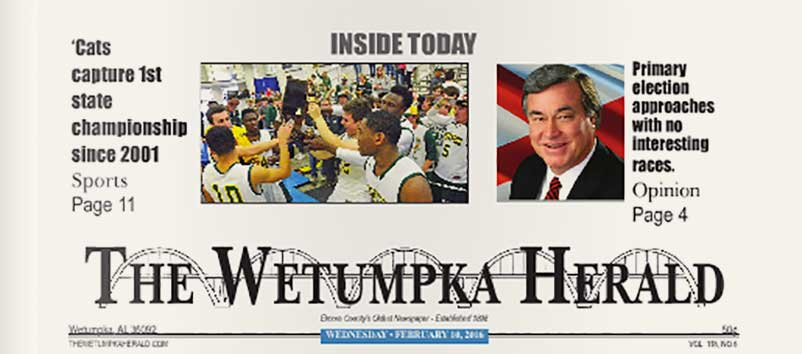 The Wetumpka Herald Ads