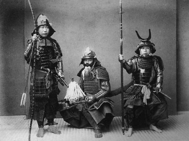 Picture of Japanese Samourais