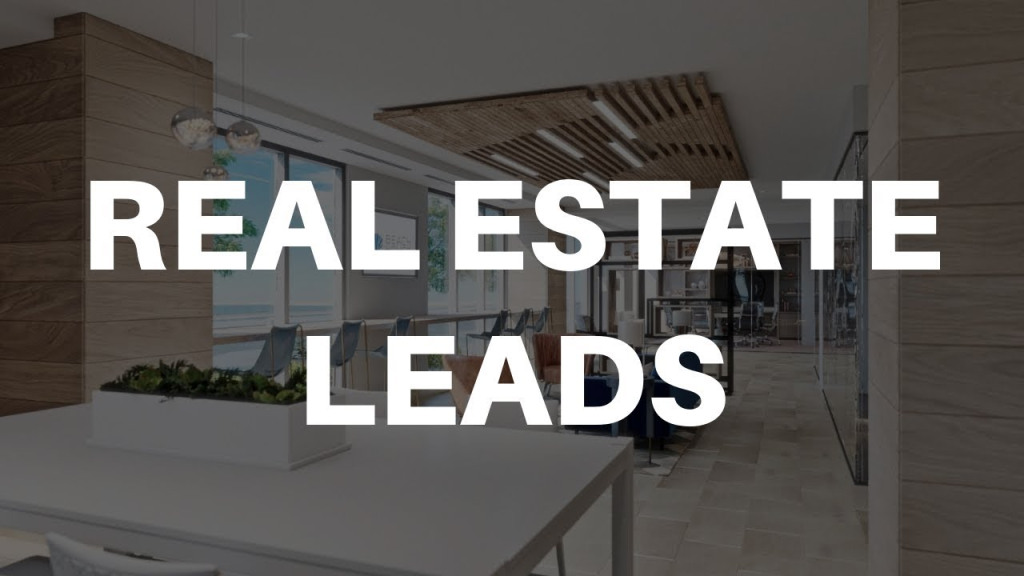 Picture with real estate leads