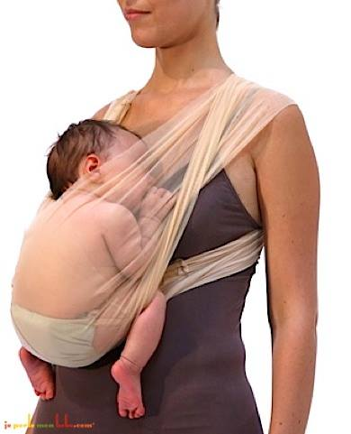 babywearing seethrough
