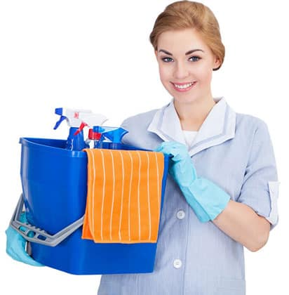 ecof cleaners cleaning lady Vancouver BC