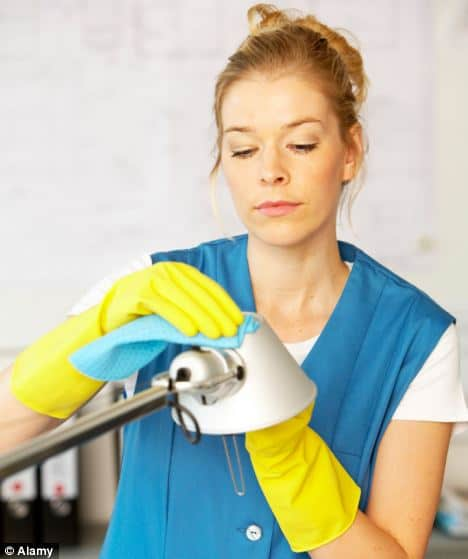 Surrey BC regular house cleaners housekeeping cleaning lady housemaid services
