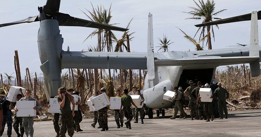 Remembering Haiyan: Philippines, U.S. cooperate in toughest of times