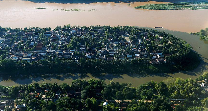 最新のメコン川主流でのダム建設取り止めを求められるラオス政府