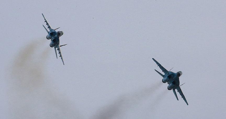 韓国防空識別圏に侵入したロシア戦闘機に警告を発するため、韓国が戦闘機を緊急発進