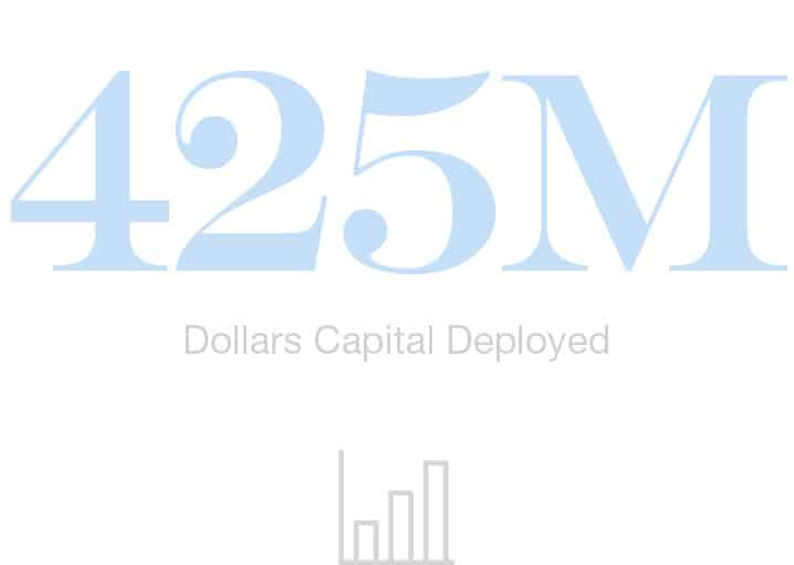 425M Dollars Capital Deployed