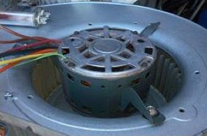AC Maintenance Plan Includes Cleaning Dirty Blower Motor