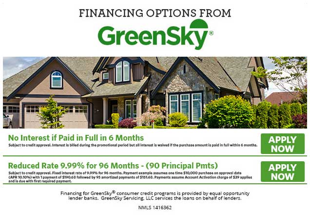 Greensky HVAC Financing